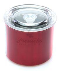 Airscape nádoba na uskladnenie kávy malá, červená farba