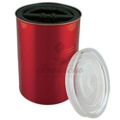 Airscape nádoba na uskladnenie kávy veľká, červená farba