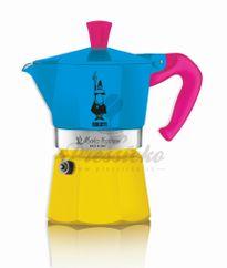 Bialetti Moka Express EXPO 2015 fialová rúčka, na 3 šálky