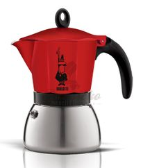 Bialetti Moka Induction Red 3 TZ