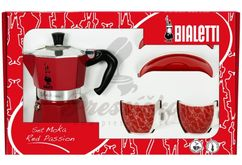 Bialetti Set Moka Red Passion