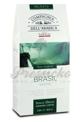 Compagnia Dell Arabica Brasile Santos, mletá káva 250g