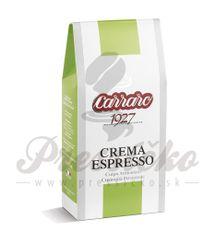 Carraro Crema Espresso, mletá káva 250g