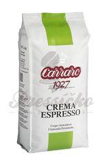 Carraro Crema Espresso, zrnková káva 1000g