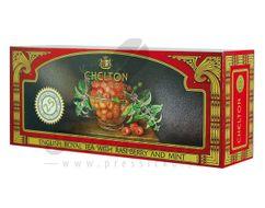Chelton English Royal čierny čaj malinovo-mätový, porciovaný, 25 ks
