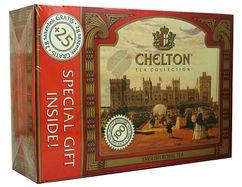 Chelton English Royal, čierny čaj porciovaný, 100+25 ks
