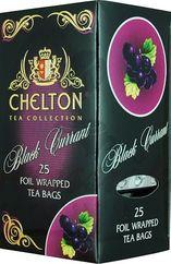 Chelton Premium čierny čaj ríbezľový, porciovaný, individuálne balený, 25 ks