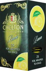 Chelton Premium čierny čaj citrónový, porciovaný, individuálne balený, 25 ks