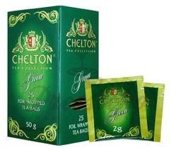Chelton Premium zelený čaj porciovaný, individuálne balený, 25 ks