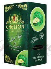 Chelton Premium, zelený čaj s graviolou, porciovaný, individuálne balený, 25 ks