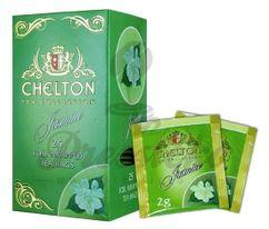 Chelton Premium, zelený čaj s jazmínom, porciovaný, individuálne balený, 25 ks