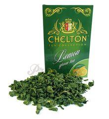 Chelton zelený čaj s citrónom, sypaný, 100g v krabičke