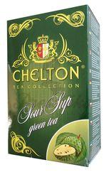 Chelton zelený čaj s graviolou, sypaný, 100g v krabičke