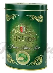 Chelton zelený čaj s graviolou, sypaný, 100g v plechovke