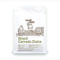 Coffee Sheep Brazil Cerrado Dulce, zrnková káva 250g