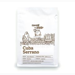 Coffee Sheep Cuba Serrano Superior, zrnková káva 250g