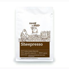 Coffee Sheep espresso zmes Sheepresso, zrnková káva 250g