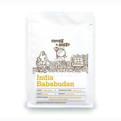 Coffee Sheep India Bababudan, zrnková káva 250g