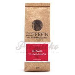 Coffeein Brasil Cerrado (Yellow Bourbon), zrnková káva 200g
