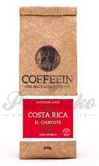 Coffeein Costa Rica El Chayote, zrnková káva 200g
