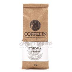 Coffeein Etiopia Yirgacheffe, zrnková káva 200g