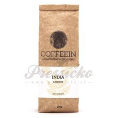 Coffeein India Cherry A 100% Robusta, zrnková káva 200g