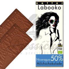 Labooko čokoláda 50% Nicaragua, 2 x 35g