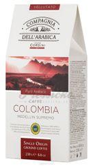Compagnia Dell Arabica Colombia Medellin, mletá káva 250g