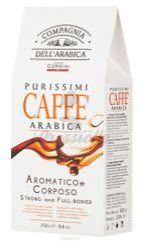 Compagnia Dell Arabica Purissimi Caffe Arabica Aromatico e Corposo, mletá káva 250g