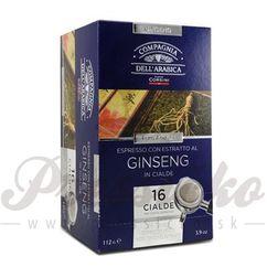 Compagnia Dell Arabica Ginseng, porciovaná káva 16x7,8g