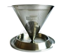 Cores kónický metalický filter
