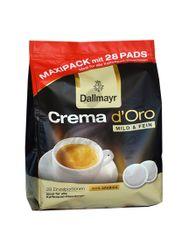 Dallmayr Crema D'Oro Mild & Fine PADS 28 ks