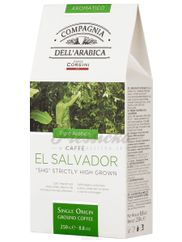 Compagnia Dell Arabica EL Salvador SHG (Strictly High Grown), mletá káva 250g