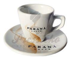 Espresso šálka Paraná s podšálkou