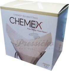 Filtre na chemex veľkosti, 6-8 šálok, 100ks