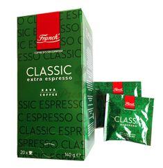 Franck Espresso Extra Classic, porciovaná káva 20ks x 7g