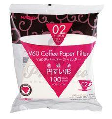 Hario V60-02 filtre papierové, 100 ks