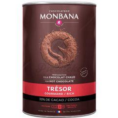 Horúca čokoláda Monbana mliečna, 33% kakaa, 1 kg