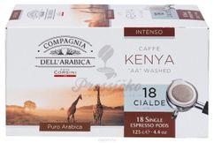 Compagnia Dell Arabica Kenya AA Washed, porciovaná káva 18x7g