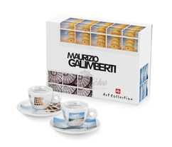 Kolekcia 2 ks cappuccino šálok Maurizio Galimberti