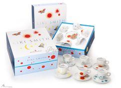 Kolekcia 6 ks cappuccinoo šálok Kiki Smith