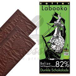Labooko čokoláda 82% Belize Toledo, 2 x 35g