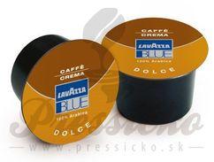 Lavazza Blue Caffe Crema Dolce, mletá káva v kapsuliach