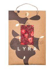 Luxusná čokoláda LYRA veľkosť A4, s posypmi, 350g