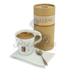 LYRA horúca čokoláda Caramel 33%, 250g balenie