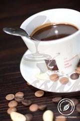 LYRA horúca čokoláda Dark 50% so stéviou, gastro balenie 25 individuálnych porcií