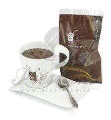 LYRA horúca čokoláda Madagascar 66%, gastro balenie 25 individuálnych porcií