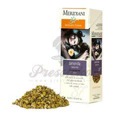 Meridiani Camomilla, bylinkový čaj 100g