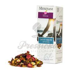 Meridiani Fonte di lunga vita, ovocný čaj 100g