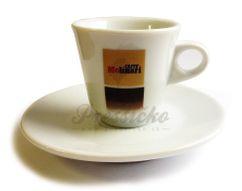 Molinari espresso šálka s podšálkou